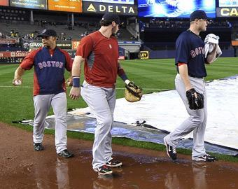 Pitcher Jon Lester (right) will go Saturday, then the Red Sox will face a challenge to get through all 18 innings of the Sunday doubleheader necessitated by Friday's rainout