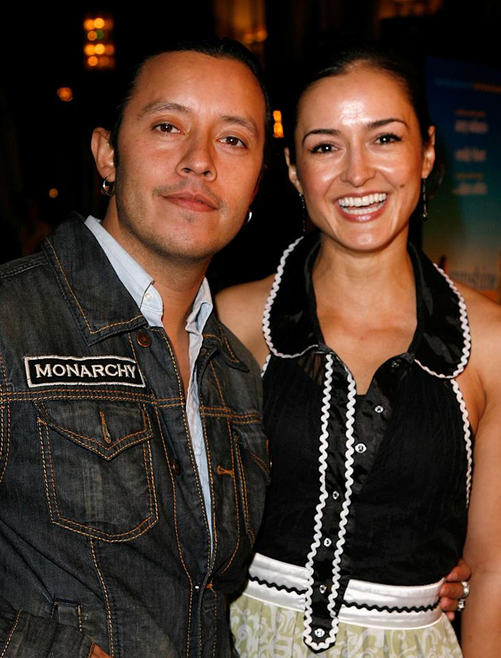 "<a href=""http://movies.yahoo.com/movie/contributor/1804511844"">Efren Ramirez</a> and Estella Perez at the Los Angeles premiere of <a href=""http://movies.yahoo.com/movie/1809823943/info"">Sunshine Cleaning</a> - 03/09/2009"