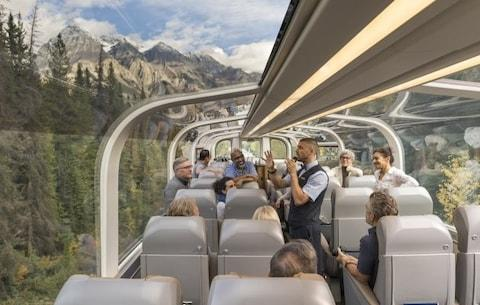 The Rocky Mountaineer