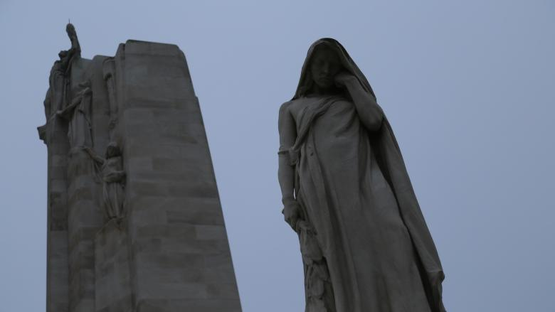 'That day was like a scythe': Montreal and the casualty lists of Vimy Ridge