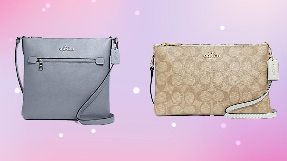 Coach is letting shoppers save on everything from a file bag to a crossbody right now.