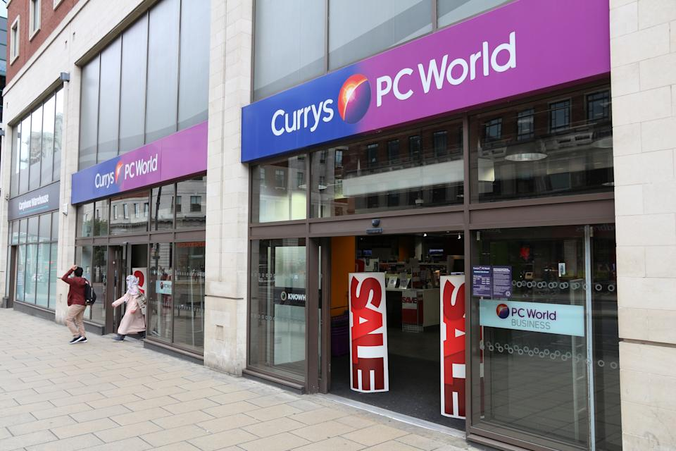 "Which? noted that around 1,500 disgruntled customers have joined a Facebook group called ""Currys PC World – where's my refund"". Photo: Getty Images"
