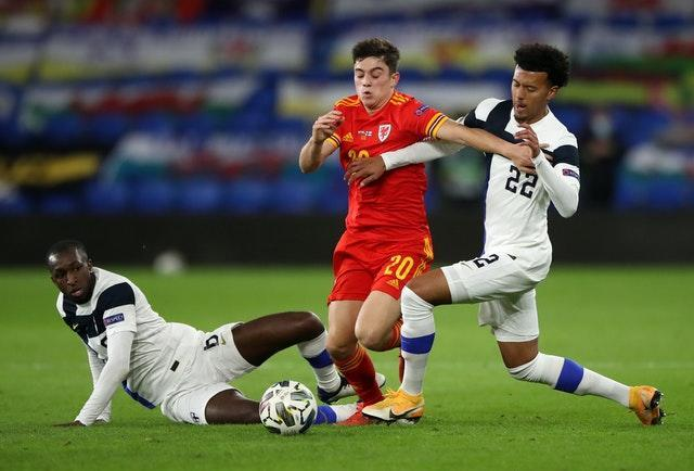 Daniel James was on target as Wales won promotion to League A
