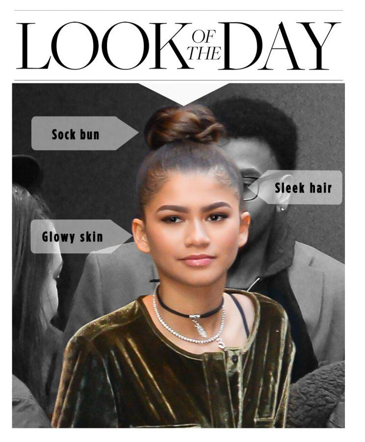 Zendaya, the queen of cool hair (and brows). (Photo: Getty)