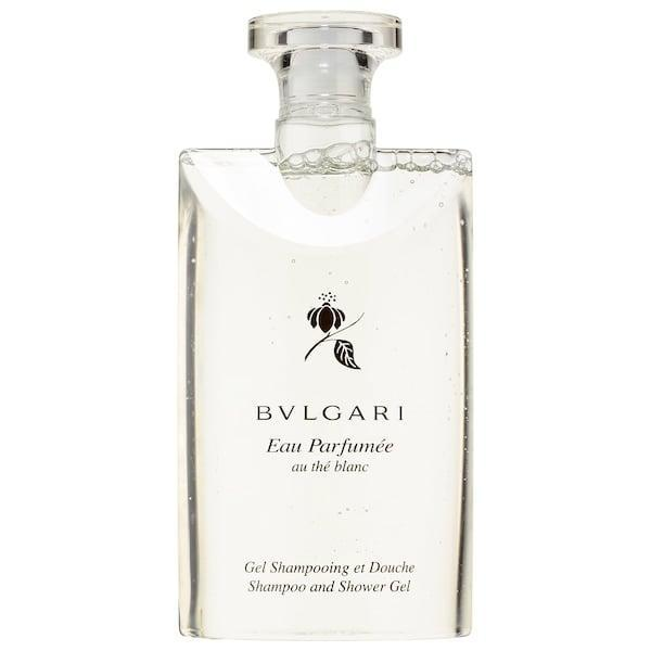 <p>Upgrade their shower experience with this iconic <span>Bvlgari Eau Parfumée Au Thé Blanc Shampoo and Shower Gel</span> ($48), which leaves a trace aroma of white tea (plus hints of white pepper) on hair and body.</p>
