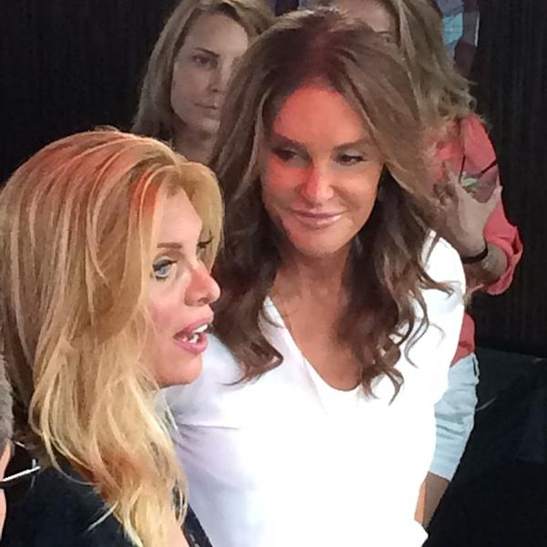 EXCLUSIVE: Caitlyn Jenner Steps Out To Celebrate New York