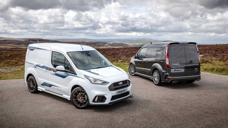 MS-RT Transit Custom can now be ordered from UK Ford dealers