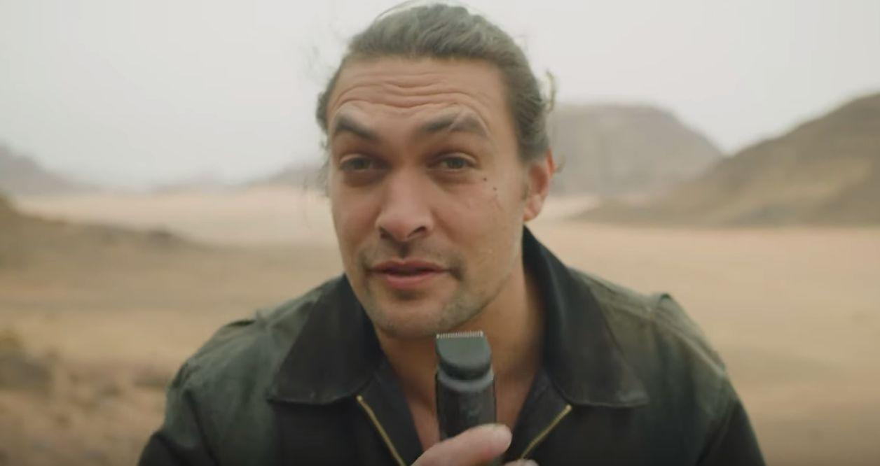 Jason Momoa shaves off his famous beard leaving fans 'distraught'