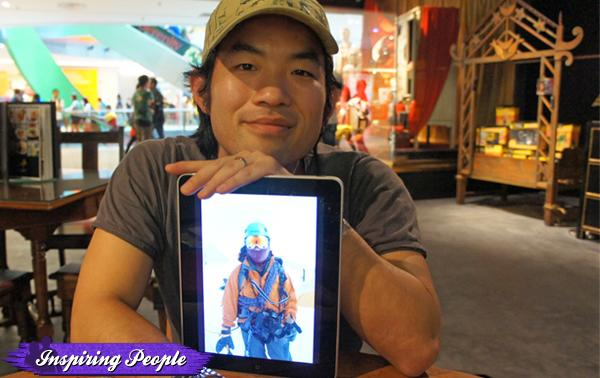 Stefen Chow went into photography after his climb of Mount Everest. (Stefen Chow photo)