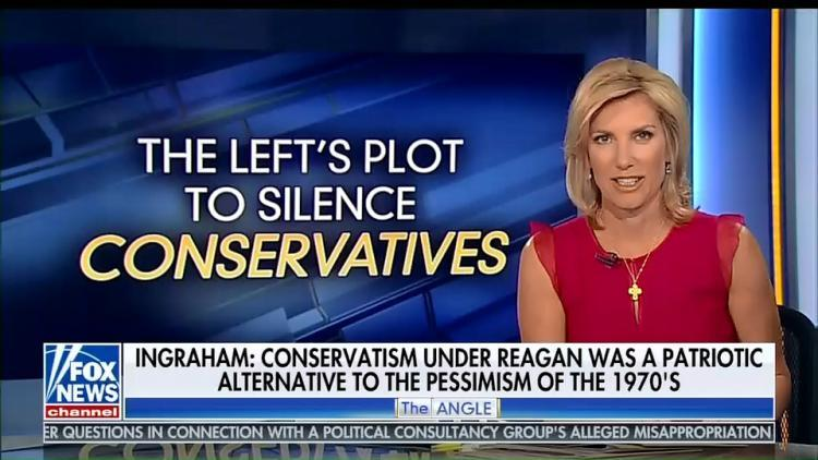 Laura Ingraham returned to Fox News on Monday. More