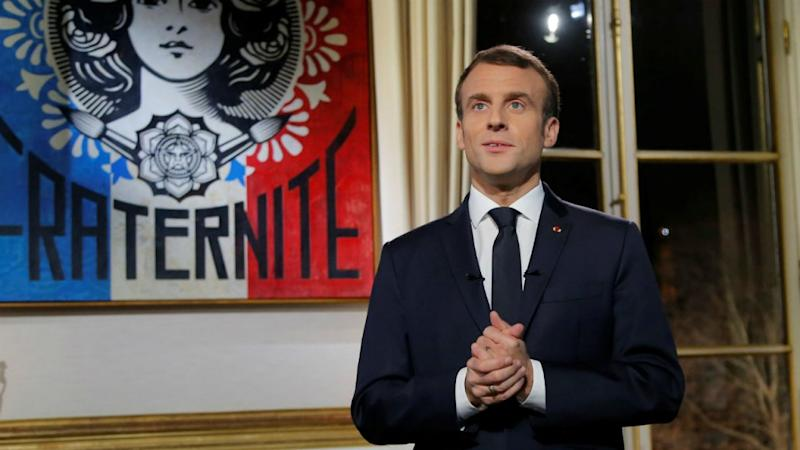 French President Macron postpones TV address amid Notre-Dame fire