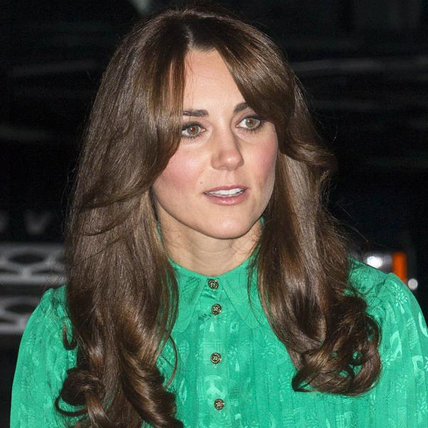 <b>Kate Middleton Top 10 Best Hairstyles</b>: The Duchess showed off a new, choppier style with a sweeping side fringe at the Natural History Museum last night ©Rex