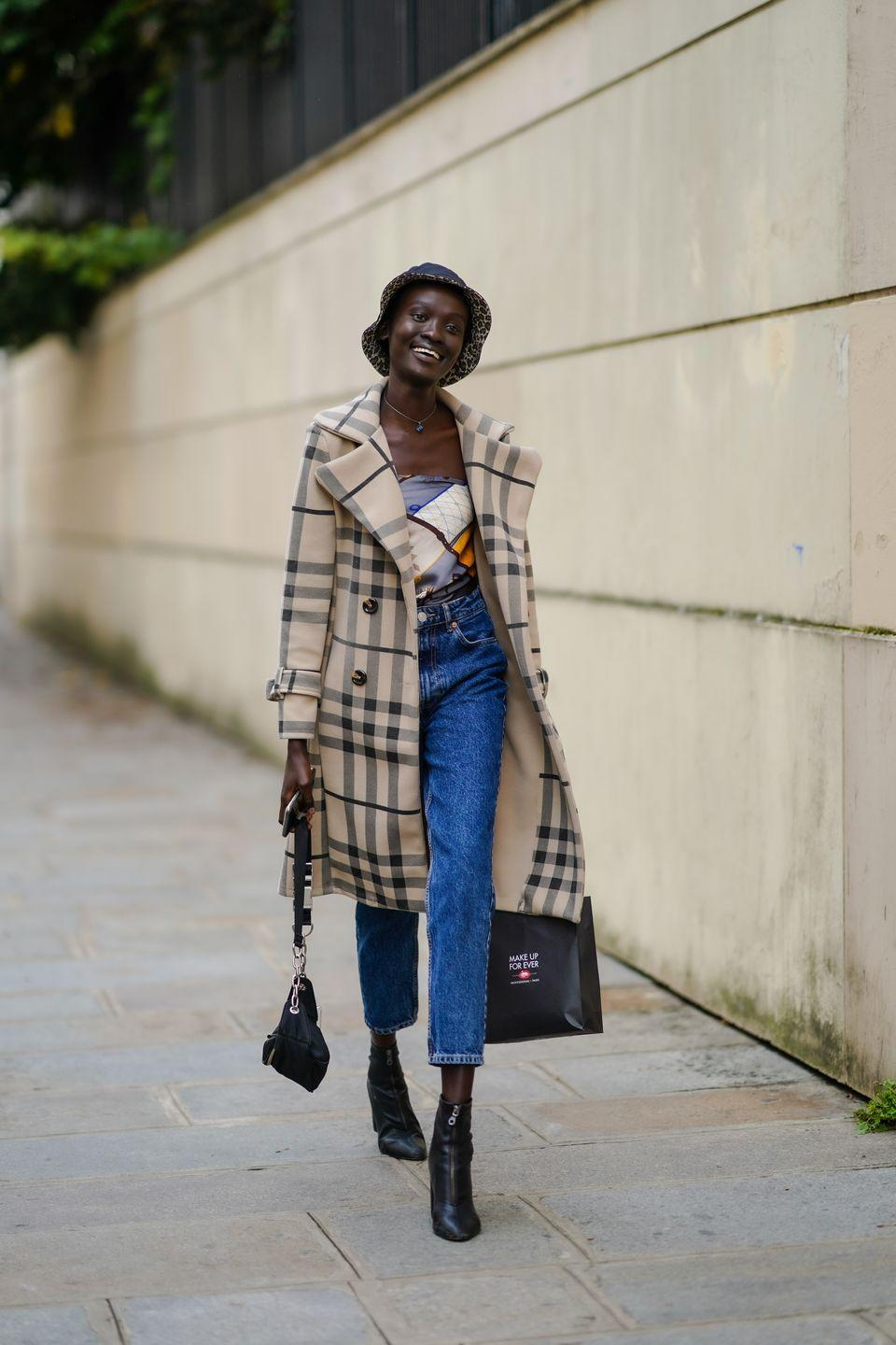 <p>They say your head is the first place heat leaves your body, so don't pack away your beanies or berets just yet. For a more spring-friendly option, give the bucket hat a try.</p>