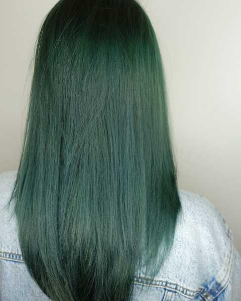 Ash Green Hair Colour Find Your Perfect Hair Style