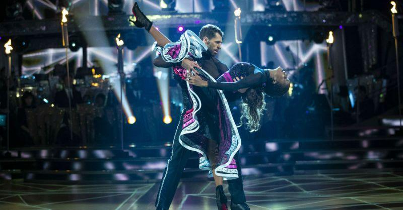 Kelvin Fletcher and Oti Mabuse are favourites to win the show this year (Credit: BBC)