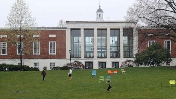 PHOTO: Johns Hopkins University in Baltimore, Md. (Rob Carr/Getty Images, File)