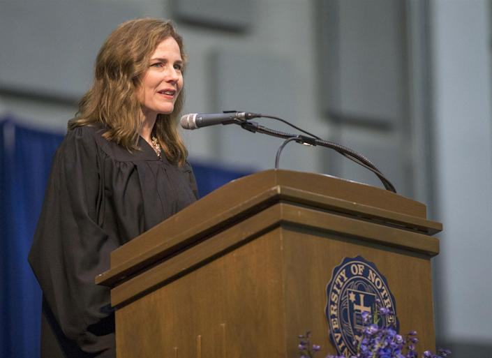 Amy Coney Barrett (Robert Franklin / AP)