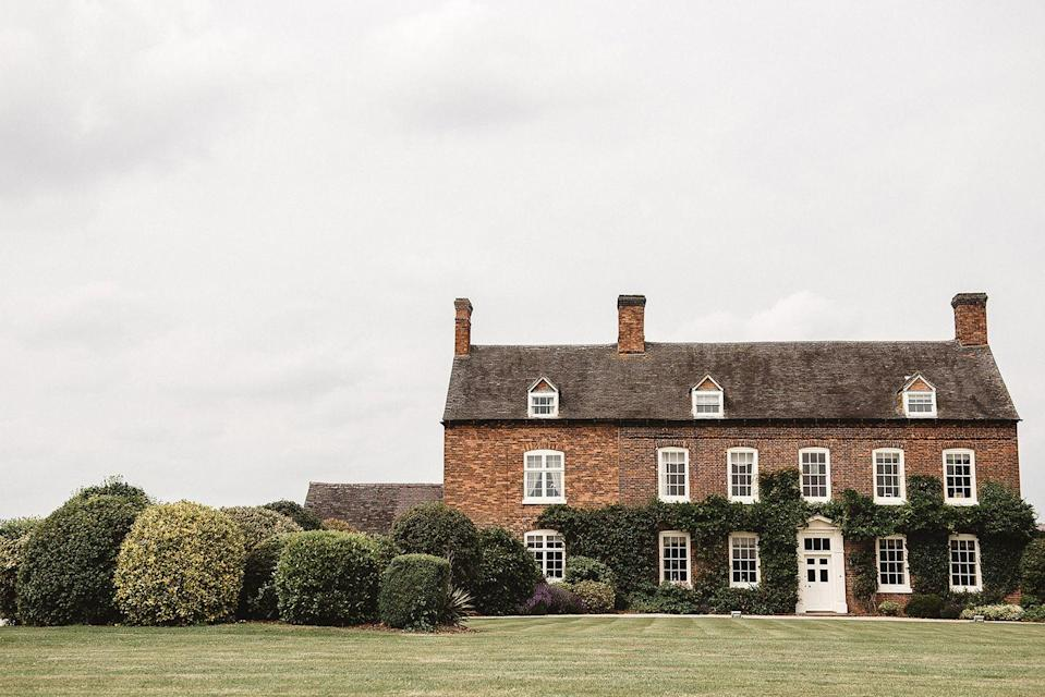 """<p>Live out your lady-of-the-manor fantasies at this stunning country house in the heart of rural Staffordshire. The location is complete with manicured lawns, a purpose-built barn and space for up to 650 guests.</p><p>Whether it's the light-filled orangery, the lobby or the idyllic outdoor courtyard, there are plenty of spaces to choose from in which to say 'I do'. </p><p>You can hire out the whole estate for a wedding takeover, with the addition of 11 beautifully appointed bedrooms (and even space for glamping!) so guests won't have far to flop at the end of the night. </p><p>Find out more <a href=""""https://alrewashayes.com/"""" rel=""""nofollow noopener"""" target=""""_blank"""" data-ylk=""""slk:here"""" class=""""link rapid-noclick-resp"""">here</a>. </p>"""