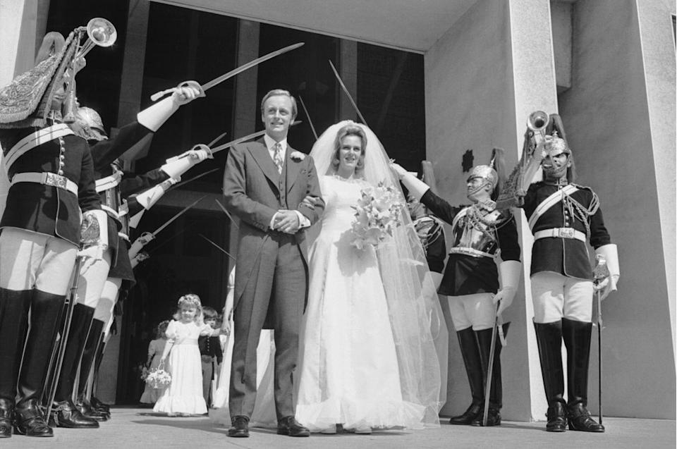 <p>Did you have people with swords at your wedding? Probably not! </p>