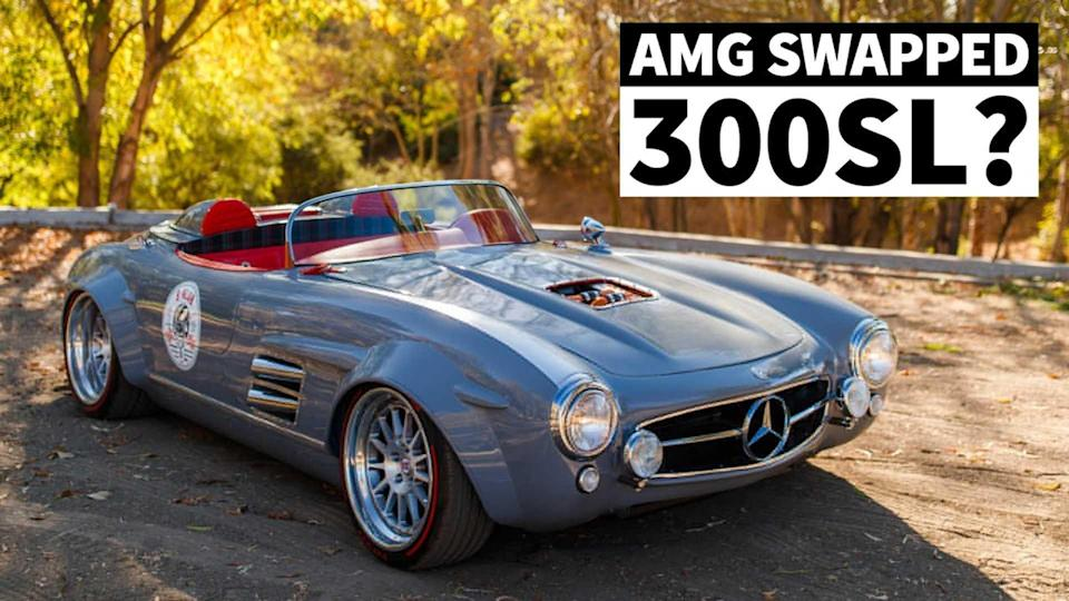 Mercedes 300 SL restomod