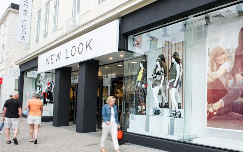 New Look has already said that it wants to shut around 60 stores to cut its rental bill - PA