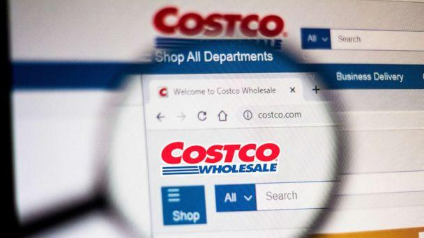 PHOTO: In this photo illustration the homepage of the Costco Wholesale Corporation website is seen displayed on a computer screen through a magnifying glass on Nov. 5, 2019. (Rafael Henrique/SOPA Images/LightRocket via Getty Images)