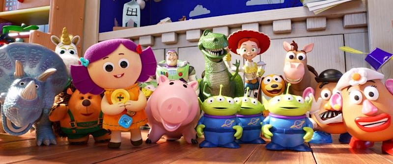 Bonnie's toys face a Woody-free future in wherever the 'Toy Story' franchise goes next (Photo: Walt Disney Studios Motion Pictures / courtesy Everett Collection)