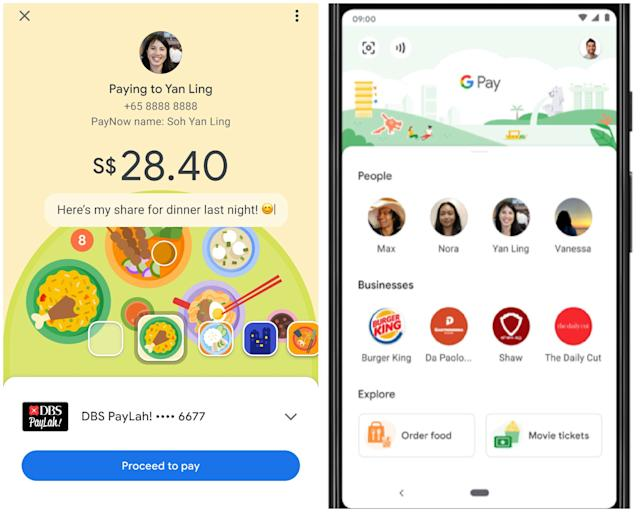 Google Pay mobile contactless payment is now linked with DBS PayLah, Standard Chartered and OCBC bank accounts