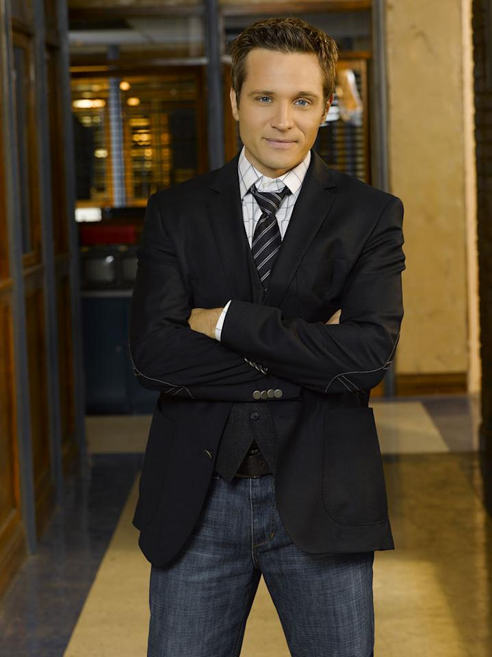 "Seamus Dever stars as NYPD Detective Kevin Ryan in ""Castle."""