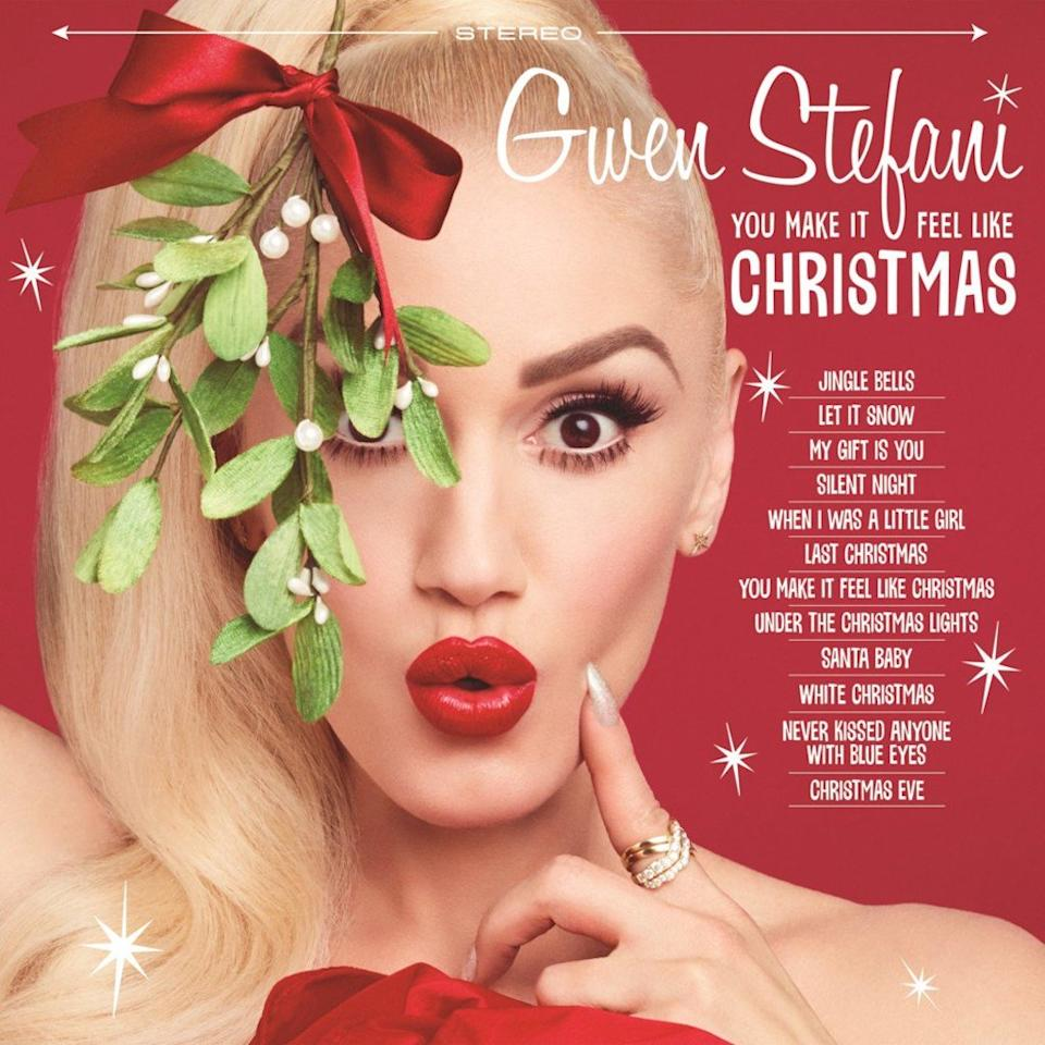 "<p>The <em>Voice </em>coach and sometimes No Doubt frontwoman was inspired to write a seasonal song while visiting boyfriend Blake Shelton's Oklahoma ranch. That initial inspiration soon snowballed into a full-fledged holiday album, featuring six originals and six covers of Christmas classics, ranging from Wham!'s ""Last Christmas"" and ""Santa Baby"" to ""Let It Snow"" and ""Silent Night."" Shelton guests on the sentimental title track. Gwen has managed to find the seasonal sweet spot between the Spector-produced girl groups of the '60s and '90s diva Mariah Carey.<br />(Photo: <span>Interscope)</span> </p>"
