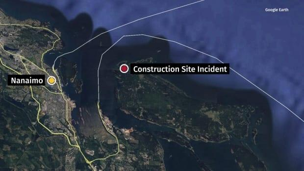 Two workers were killed when a boom broke and landed on them at a construction site on Gabriola Island on March 16, 2021.