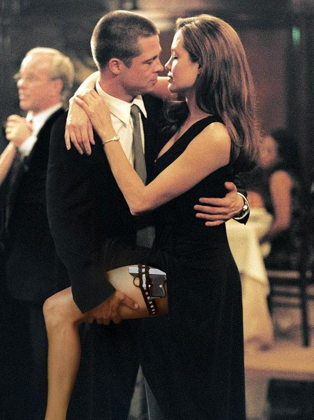 They met on the set of Mr and Mrs Smith. Source: Supplied.