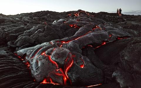Care to indulge in some lava tourism? - Credit: getty