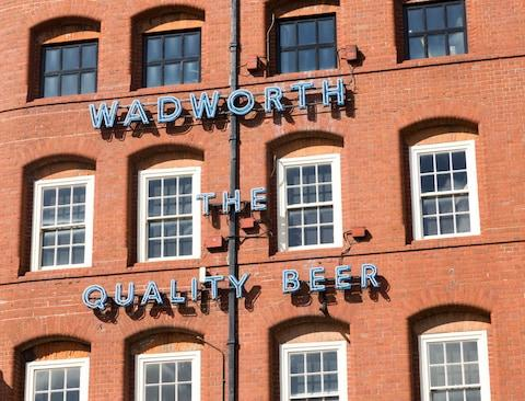 The Wadworth Brewery has been making beer here since 1885 - Credit: GETTY