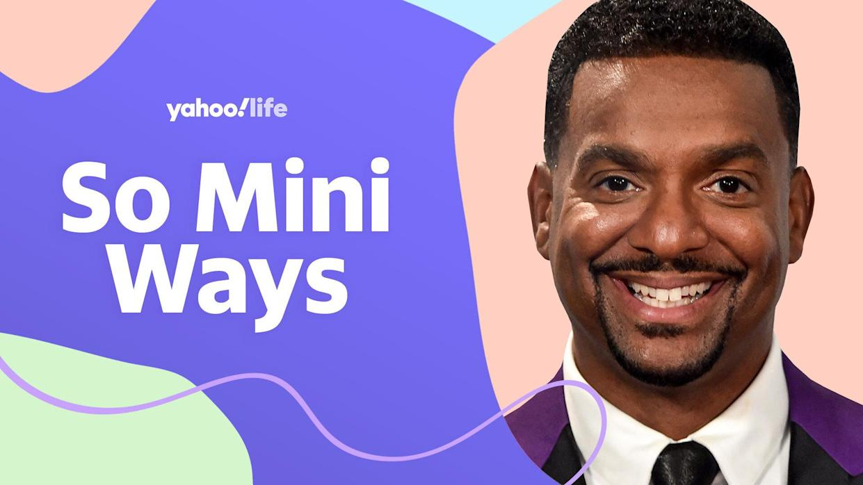 Alfonso Ribeiro on being a father of four. (Getty Images; designed by Quinn Lemmers)