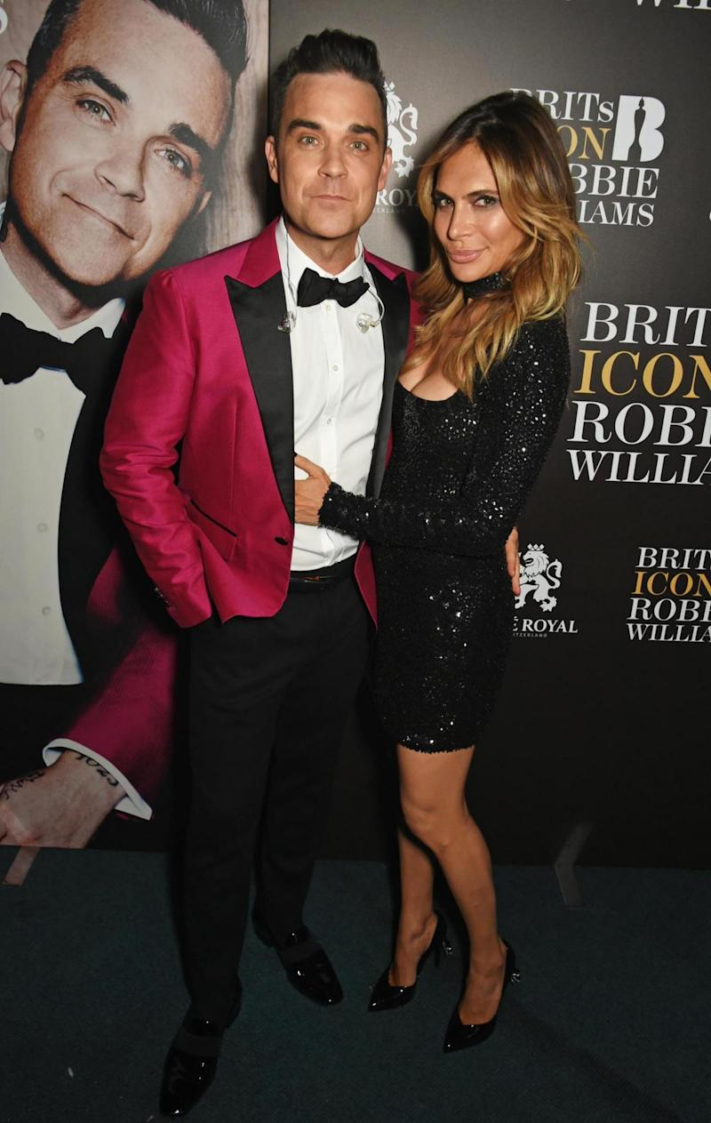 Married: Robbie Williams and Ayda Field wed in 2010 (Dave Benett)