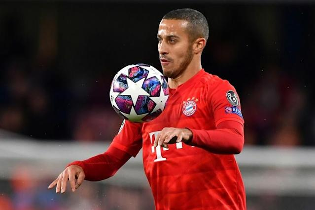 Thiago Alcantara is reportedly refusing to extend his stay at Bayern Munich (AFP Photo/Ben STANSALL)