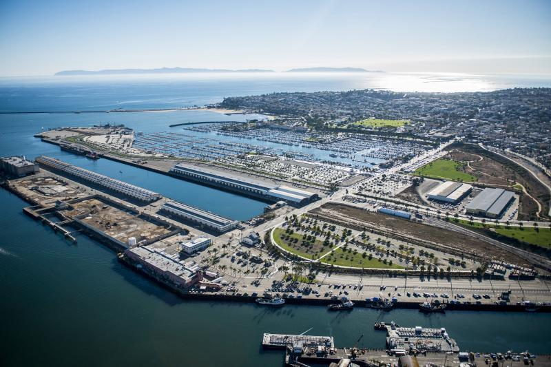 Port of LA unveils plan for marine research center
