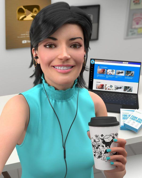 Magazine Luiza has made a name for itself in Brazil for pushing the envelope and innovating in the digital era. Its chief spokeswoman, Lu (pictured above), is the world's most followed non-human influencer. Image courtesy of Magazine Luiza, SA