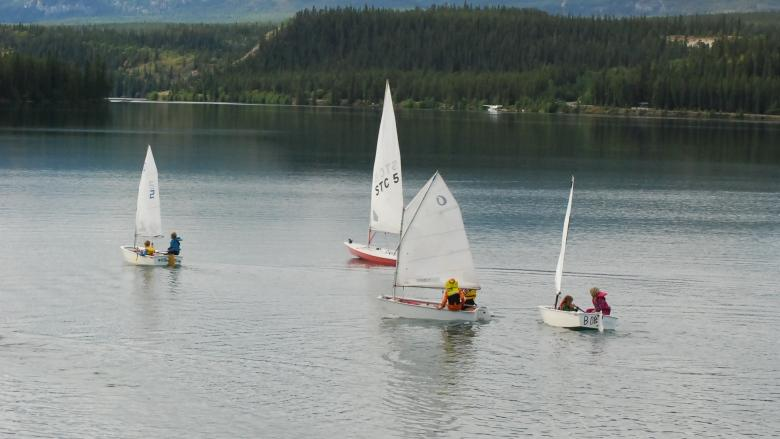 Learning how to sail: it's a breeze say young Yukoners