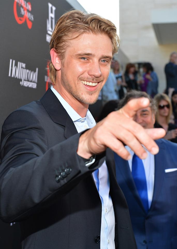 """Boyd Holbrook attends a special screening of """"Hatfields & McCoys"""" hosted by The History Channel at Milk Studios on May 21, 2012 in Hollywood, California."""