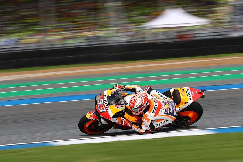 Marquez 'doesn't care' Honda is difficult to ride