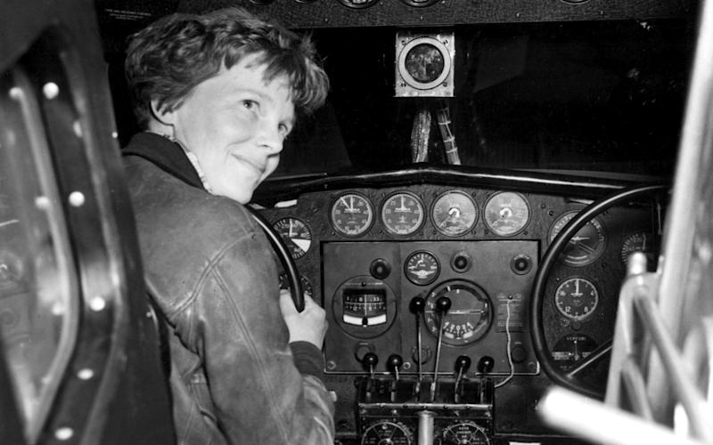 Earhart was the first woman to fly solo across the Atlantic - Channel 5 Television
