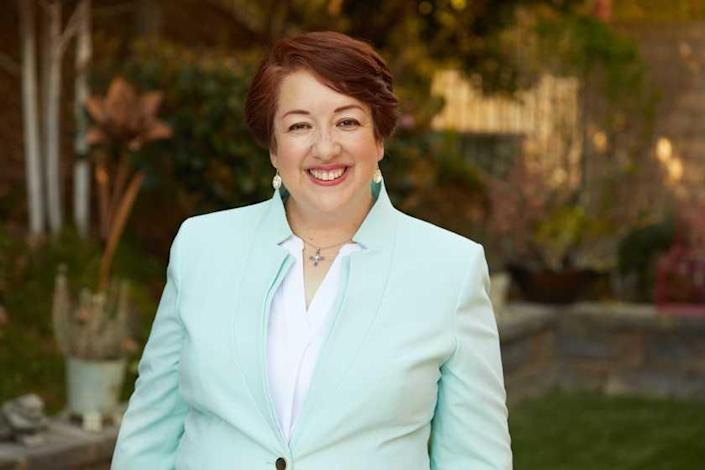 Simi Valley City Councilwoman Ruth Luevanos, who is running for Congress in CD-25, currently held by Rep. Mike Garcia.