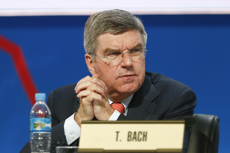 Bach goes in as favorite in IOC presidential vote