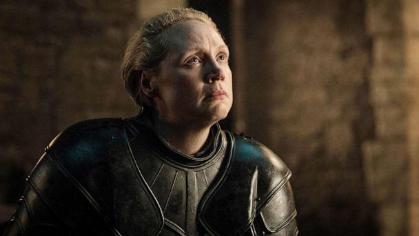 PHOTO: Gwendoline Christie in a scene from 'Game of Thrones.' (Helen Sloan/HBO)