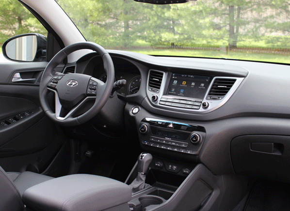 Driving the all-new 2016 Hyundai Tucson