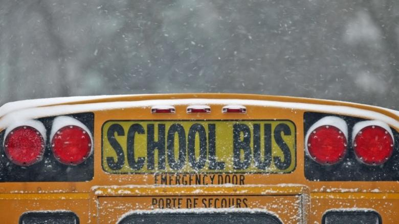 Schools close after freezing rain leads to icy roads, power outages