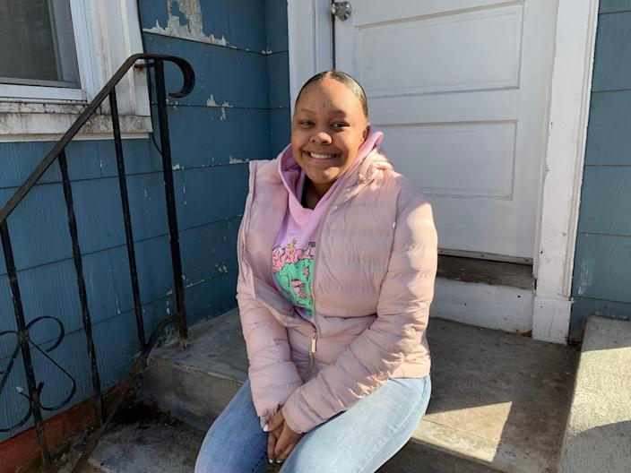 Alyssa Washington, a senior at Metropolitan Business Academy in New Haven, Conn., who wants to be a nurse, decided not to apply to college this year.