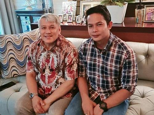 Chef Wan with his new son in law Aidid.